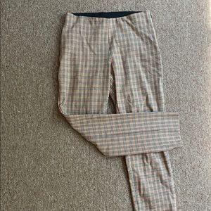 Micro houndstooth dress pants
